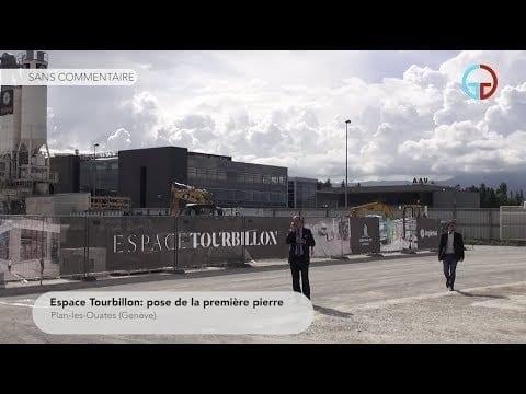 Espace Tourbillon: pose de la première pierre