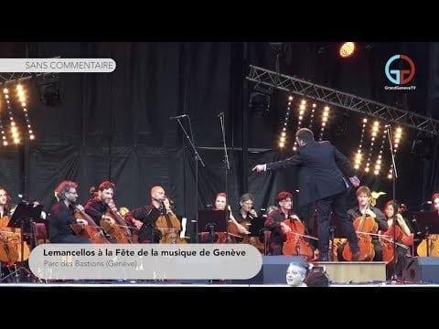 Lemancellos à la Fête de la musique de Genève