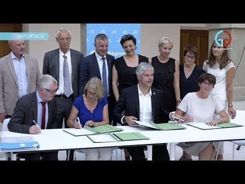 Coopération renforcée entre la Région et le Genevois français