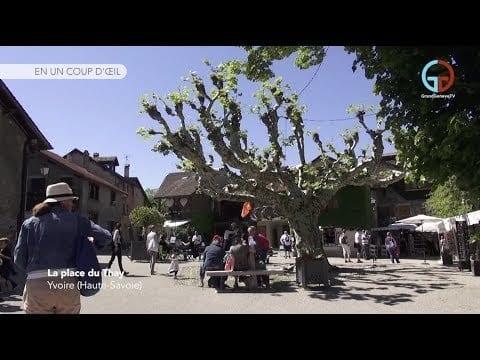 La place du Thay – Yvoire