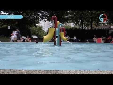 Avanchets: l'été à la Pataugeoire