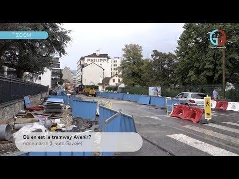 Où en est le tramway Avenir?