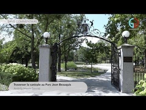 Traverser la canicule au Parc Jean Beauquis