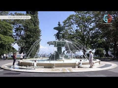 Fontaine des Quatre-Saisons – Jardin anglais