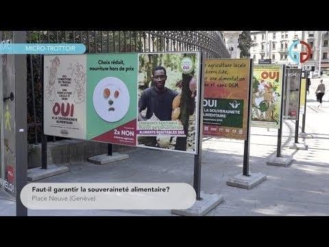 Faut-il garantir la souveraineté alimentaire?
