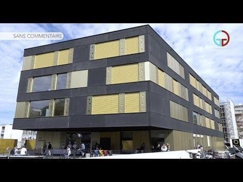Inauguration de l'école Emilie de Morsier