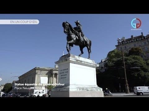 Statue équestre du général Dufour