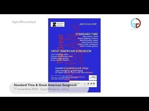 AgendAcoustique – Jazz à la Cave: Standard Time & Great American Songbook