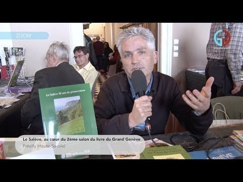 Le Salève, au coeur du 2ème salon du livre du Grand Genève