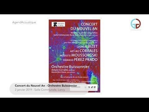 AgendAcoustique – Concert de Noël & Concert du Nouvel An