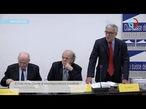 À l'ère de la Charte d'interdépendance mondiale