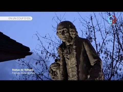 Statue de Voltaire – Ferney-Voltaire