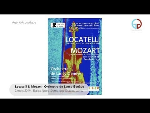 AgendAcoustique – Locatelli & Mozart