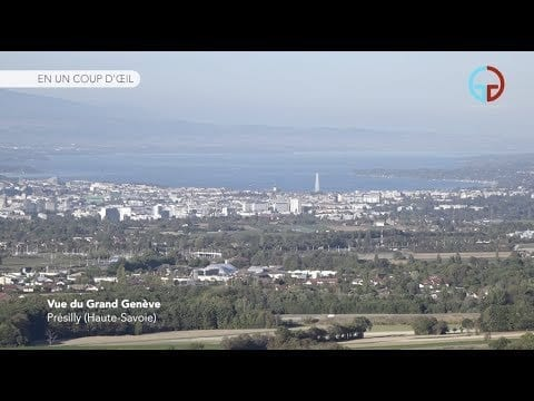 Vue du Grand Genève – Présilly