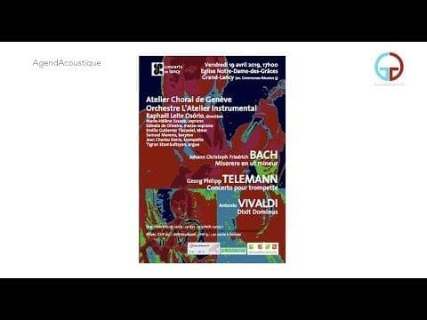AgendAcoustique – Spécial Pâques & Les Concerts de Lancy