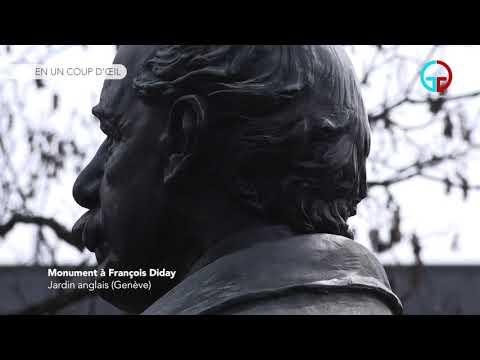 Monument à Francois Diday – Jardin anglais (Genève)