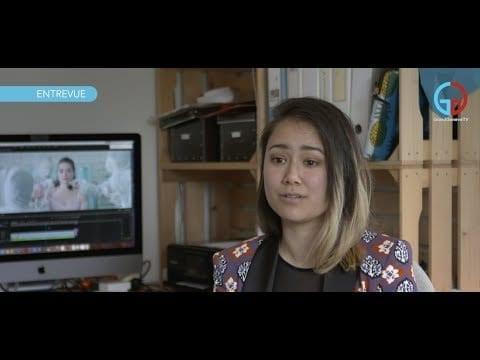 Mei Fa Tan: elle sublime la musique par le clip