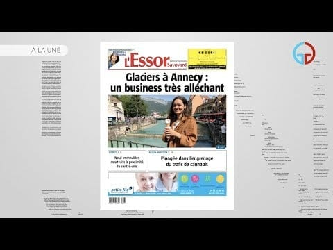 A La Une – L'Essor Savoyard du jeudi 13 juin 2019