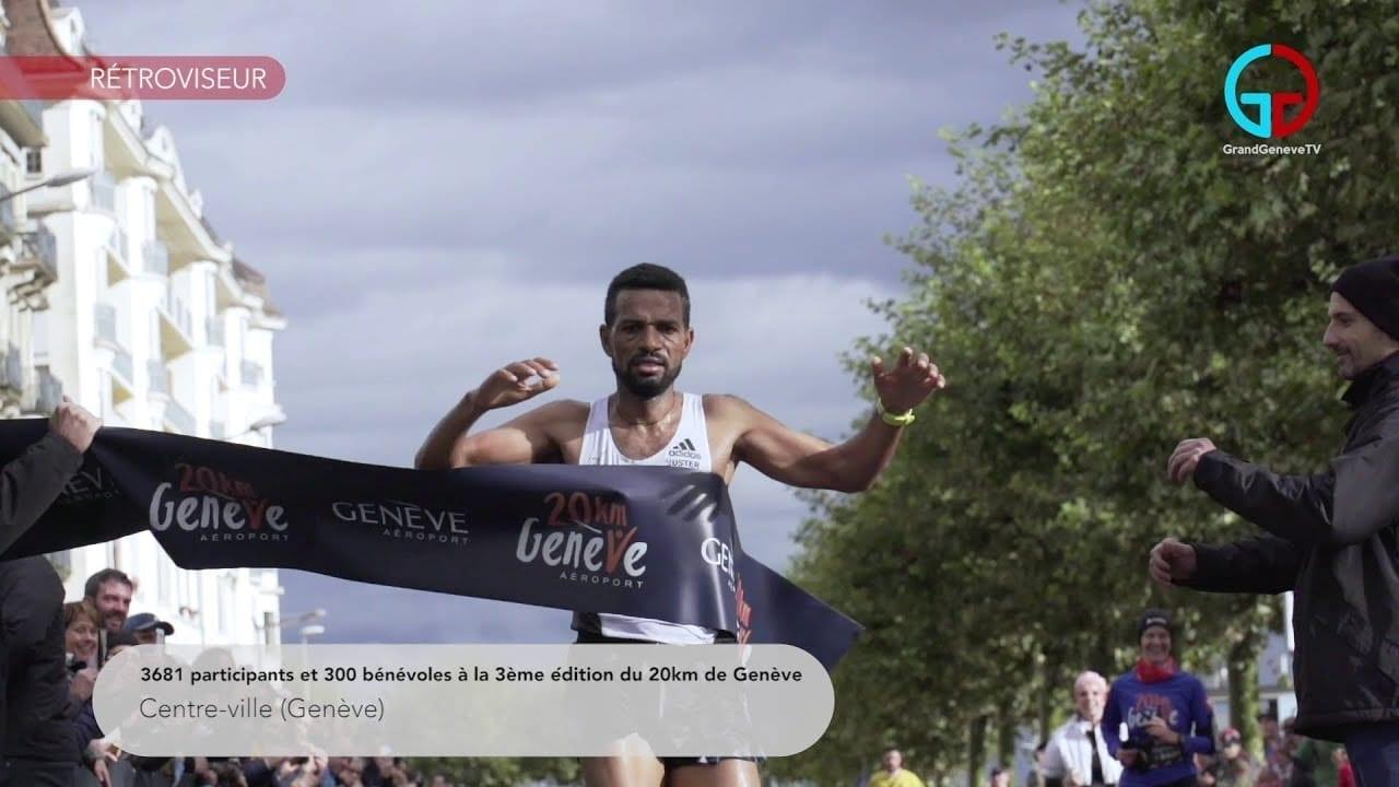 3681 personnes ont participé à la 3ème édition du 20km de Genève!
