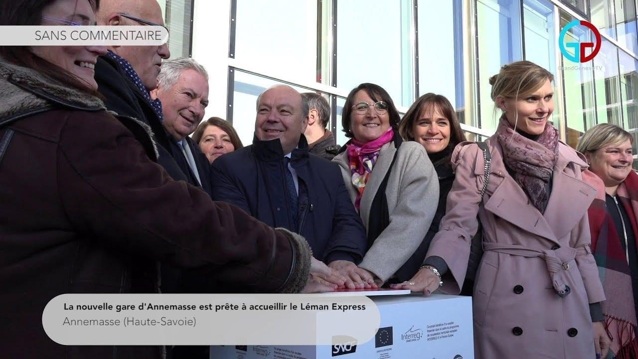 La nouvelle gare d'Annemasse est prête à accueillir le Léman Express